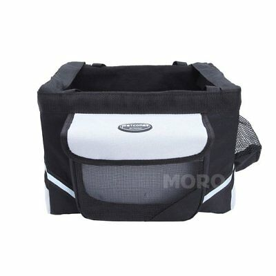 UK Ship Pet Dog Cat Travel Crate Carry Bag Carrier For Bike Bicycle Front Basket