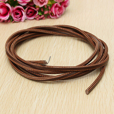 "71"" 3/16""Leather Belt Treadle Parts with Hook for Singer/Jones Sewing Machine ab"