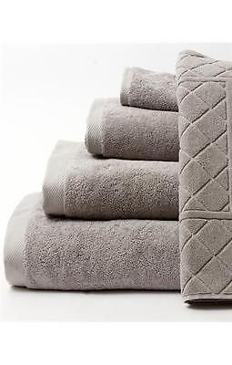 Luxury Grey Silver 750 GSM Thick soft Absorbent 100% Egyptian Cotton Towels