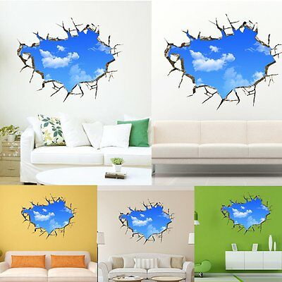 Photo Frame Family Broken Sky Wall Decal Sticker Living room Bedroom Home Decor