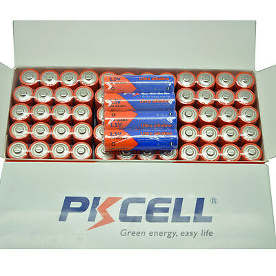 60pcs /box 1.5V Alkaline Batteries LR6 AM3 AA Industrail Battery PKCELL EXP.2025