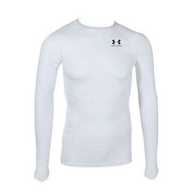 Mens XL UNDER ARMOUR HeatGear Compression Long Sleeve T Shirt Base Layer 23