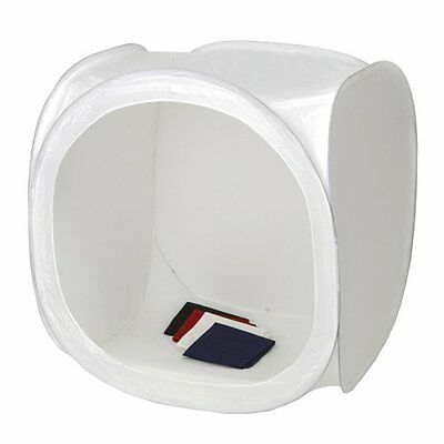 Square Perfect 2085 12-Inch Light Tent Photo Cube Softbox with 4 Colored for