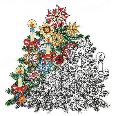 Christmas Tree - Zenbroidery Printed Fabric