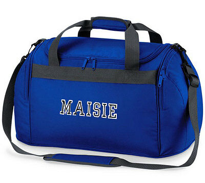 Personalised VARSITY Sports Holdall Bag - Named Travel School Embroidered Kids