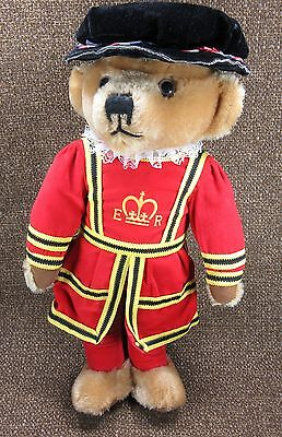 Merrythought Limited Bear Beefeater Queen's Royal Guard England Collectible 18""