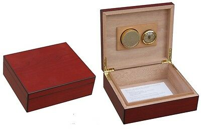 Compact Desk Top 25 Rosewood Cigar Humidor