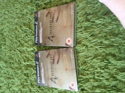 Resident evil 4 limited edition for PS2 FACTORY SEALED