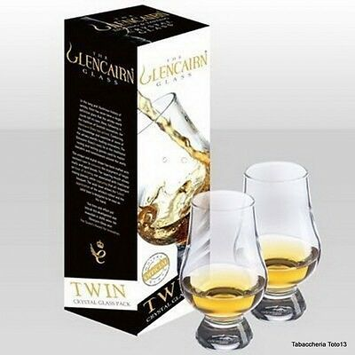 The Glencairn Official Whisky Glass Twin Pack - Set Di 2 Bicchieri Per Whisky