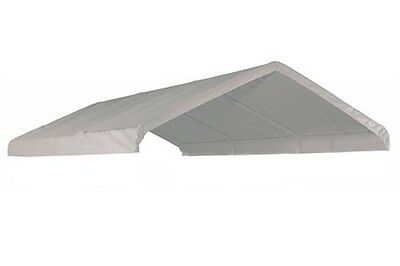 10x20' Top Roof Tarp Replacement CANOPY Cover Tent SHADE Motorcycle Boat Jetski