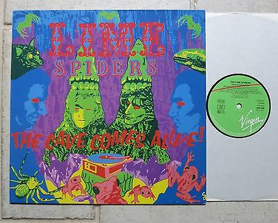 LIME SPIDERS – The Cave Comes Alive!  LP  Virgin – 208 558