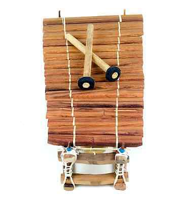 16 note African balaphon handcrafted Senegal Xylaphone Defect Needs Tuning