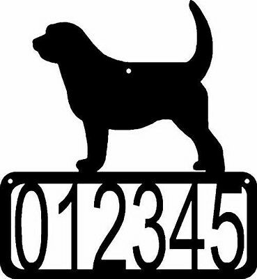 Otterhound Dog CUSTOM Personalized Metal ADDRESS House Number Sign Made USA