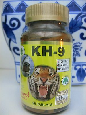 Kh-9 Kh9 Multivitamin Tablets Natural Bio Energetics Mineral Herb Amino Enzymes