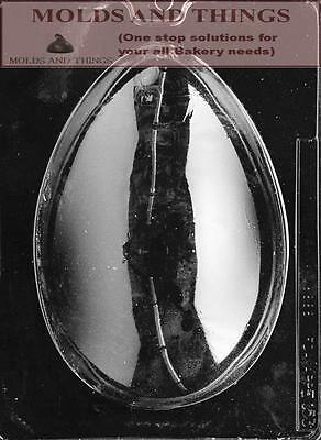2 LB. Easter Egg Chocolate candy mold - set of 2
