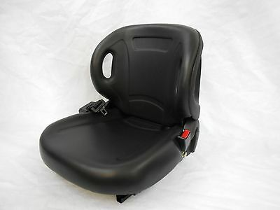 New Molded Toyota Forklift Seat With Seatbelt & Switch Premium Quality! Belt #pt