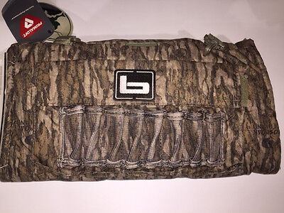 Banded Soft Shell w/ Primaloft Handwarmer Bottomland Camo Waterfowl Hunting New!