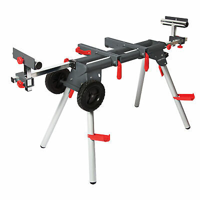 PROTOCOL 67106 WS-077 Contractor Mobile Chop Miter Saw Stand Portable w/ Wheels