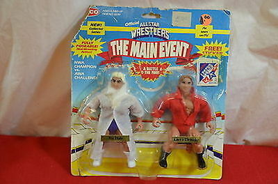 Remco AWA Main Event All Star Wrestlers Ric Flair Larry Zbyszko  900