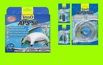 Tetra APS 50 Set POMPE À AIR AQUARIUM BLANC Edition A POUR 10-60l