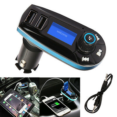FM Transmitter Car Radio MP3 Music Player Wireless Bluetooth Handsfree Adapter