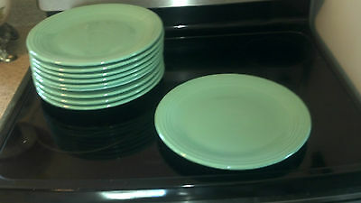 """Homer Laughlin Fiesta  Seafor Turquoise Green 12"""" Dinner Plate or Chop Plate EUC"""
