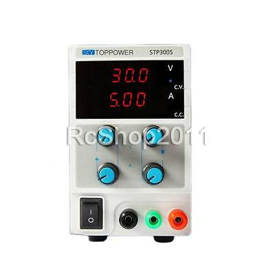 STP3005 Mini 30V 5A Adjustable High Precision Digital DC Power Supply 3 1/2 LED