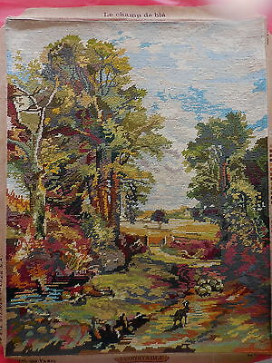 Tapestry Royal Paris Le Champ De Ble  J. Constable 1756 Completed Unframed