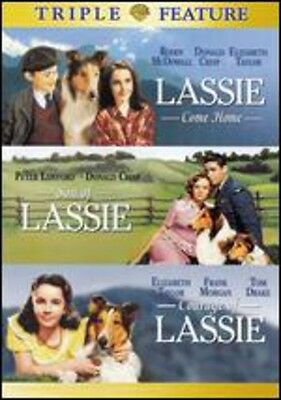 Lassie Come Home/Son of Lassie/Courage of Lassie [2 Discs] (2006, DVD (REGION 1)