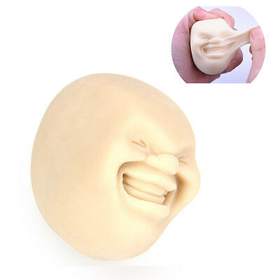 New Japanese Stress Sphere Reliever Anti-stress Human Face Balls Toy Gift