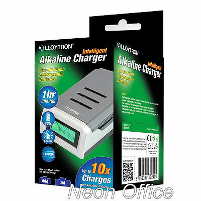 FAST Lloytron Battery Charger NiMH or even normal Alkaline AA AAA Batteries