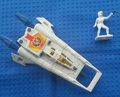 BUCK ROGERS CORGI: Earth SpaceFighter mit Buck Rogers Figur  - rar