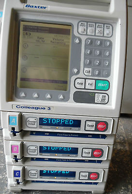 Baxter Colleague 3 Volumetric Infusion pump