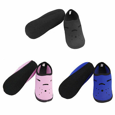Hollow Out Snorkeling Diving Socks Beach Swimming Warm Anklets Flippers Sock AU