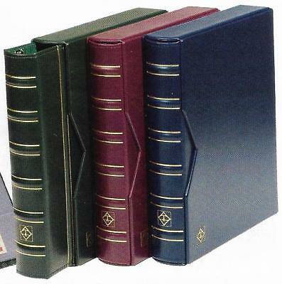 LIGHTHOUSE VARIO CLASSIC LEATHERETTE BINDER & SLIPCASE BLUE COLOUR (No Pages)