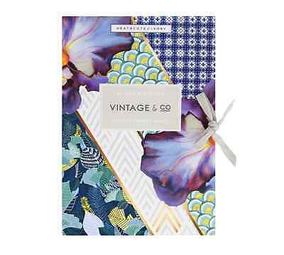 Heathcote & Ivory Vintage & Co Scented Drawer Liners - Braids & Blooms