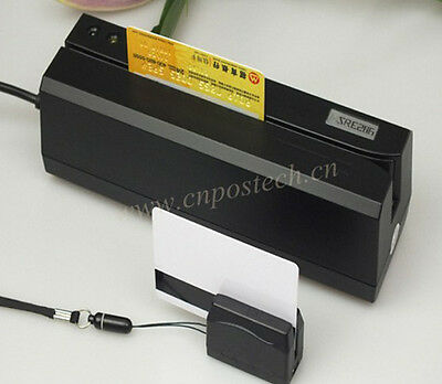 Magnetic Magstripe Card Reader Writer with DX3 collector Bundle Msre206+Mini300