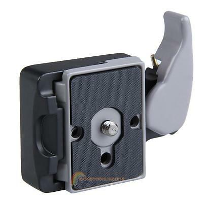 Metal Alloy Camera 323 Quick Release Adapter w/ Manfrotto 200PL-14 Compat Plate