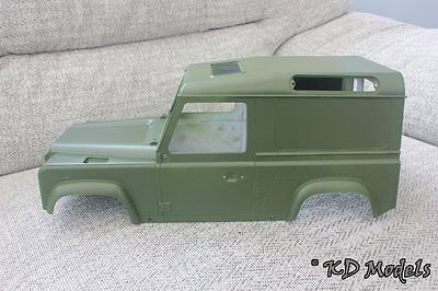 Side Window Blank Panels kit for Gelande RC4WD D90 Land Rover to convert to van