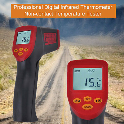 FY380 Professional Digital Infrared Thermometer Noncontact Temperature Tester IB