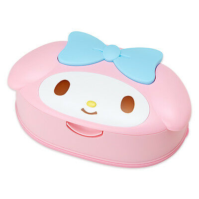 My Melody SANRIO Face Shaped Case and Wet Tissue/KAWAII!!