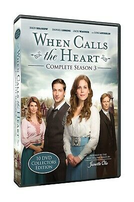 When Calls The Heart Season 3 Collectors Hallmark Channel 10 DVD Set