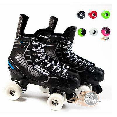 Bauer Quad Roller Skate - Nexus N5000 Playmaker Conversion - Sims Street snakes