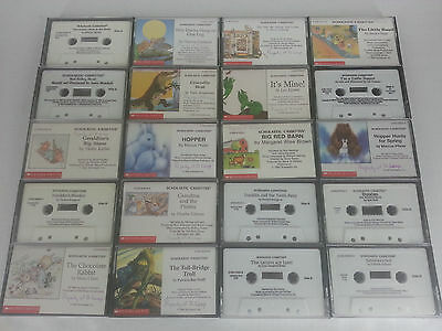 20 Scholastic Childrens Books on Cassette Tape AudioBooks No Doubles Hopper