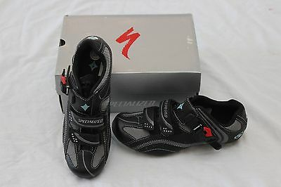 New Women's Specialized Torch Road SPD-SL Cycling Shoes EU 37 US 7 Black $140
