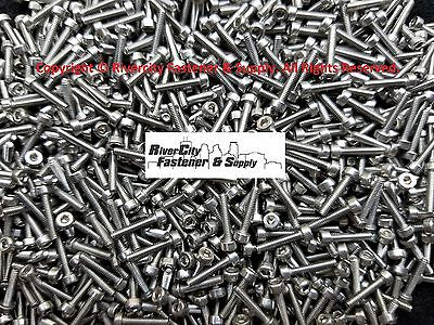 (100) M2-0.4x10mm Socket / Allen Head Cap Screws Stainless Steel 2mm x 10mm