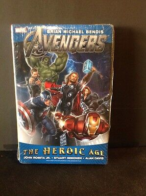 Avengers The Heroic Age Omnibus Hardcover GN Brian  Bendis Immonen New HC NM