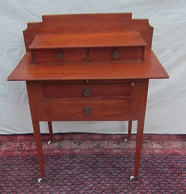 18Th Century New England Hepplewhite Server In Extremely Rare Format