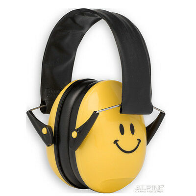 Alpine Hearing Protection  EarMuffy - Ear Protectors for Kids with Bag - Smile