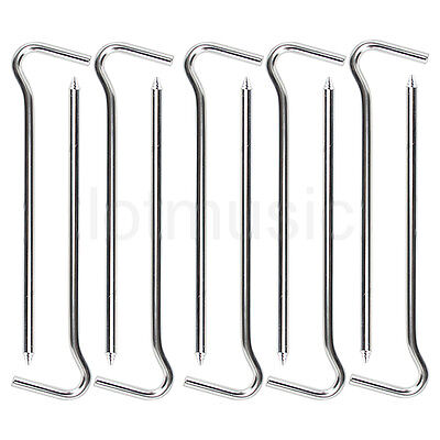 10pcs Aluminum alloy Tent Hook Peg Spike Camping Stake Nail Hiking Survival Tool